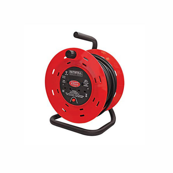_50MTR REEL 240V EXTENSION CABLE REEL